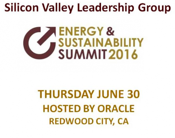 SSV partners with SVLG's Energy & Sustainability Summit 2016