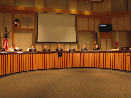 Mountain View City Council during meeting to approve ESAP