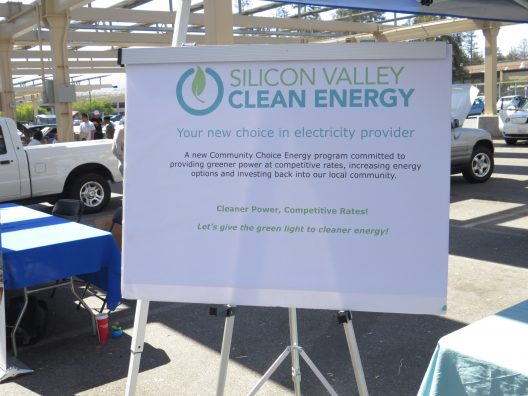 SVCE Display at the Electric Auto Assn. Yearly Rally