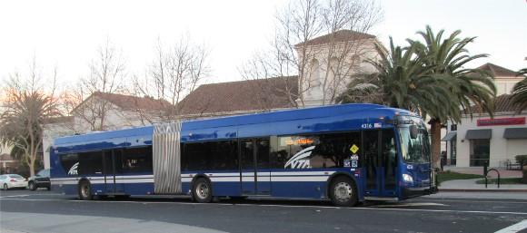 VTA 522 Bus